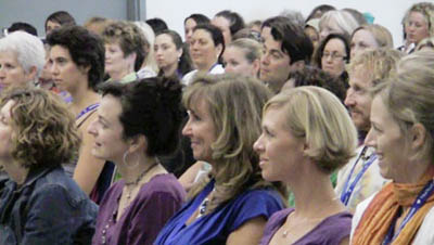 A Picutre of the audience at Deborah King's Truth Heals Workshop