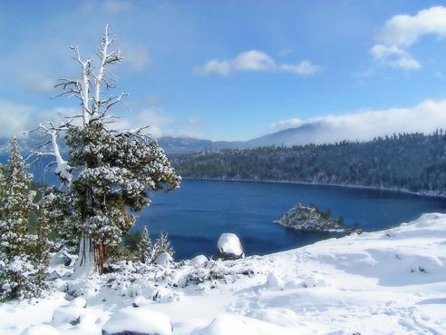 Lake Tahoe in Winter - Deborah King's special place