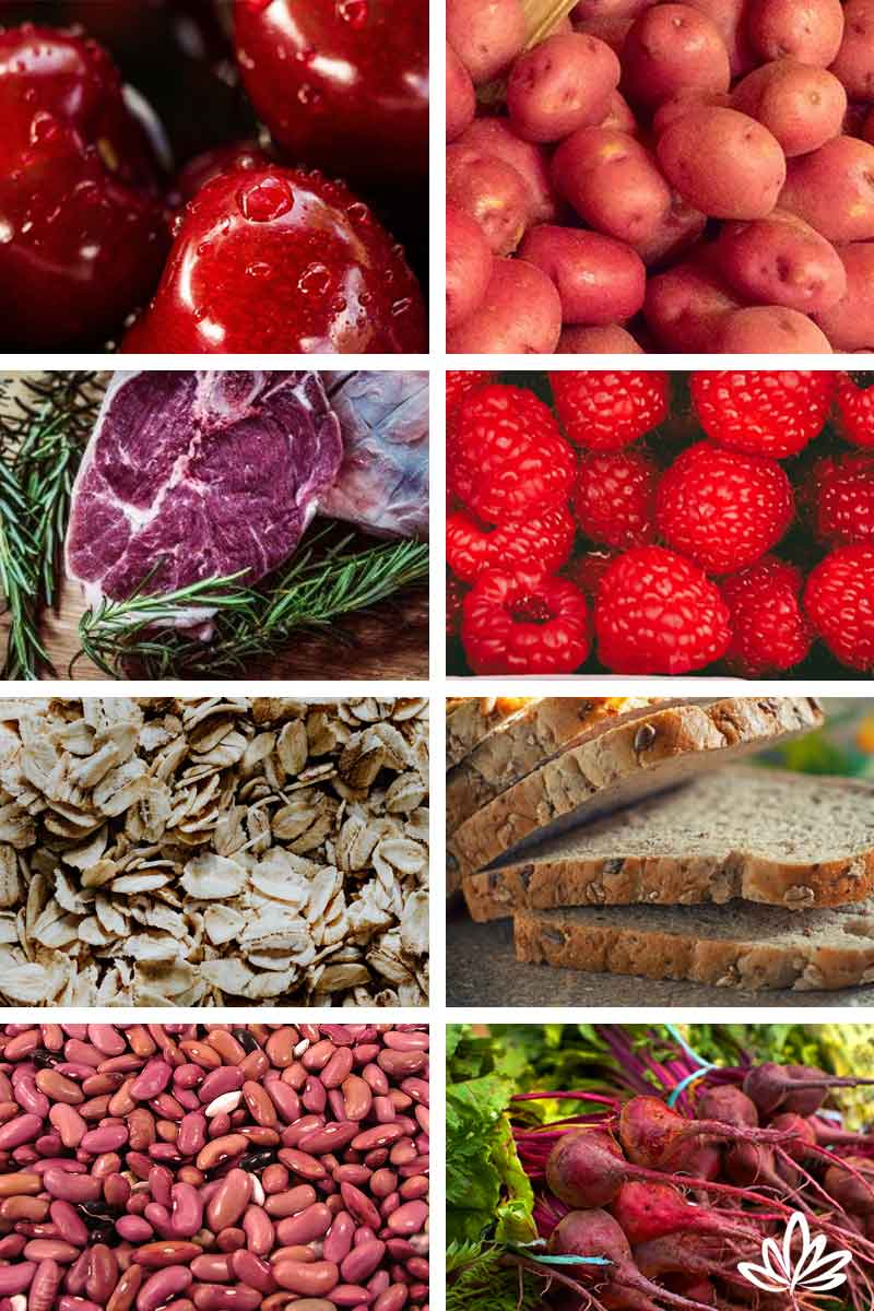 Root Chakra Foods