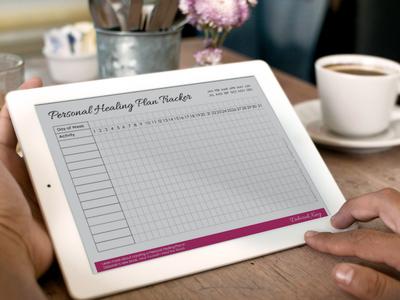 Personal Healing Plan Habit Tracker