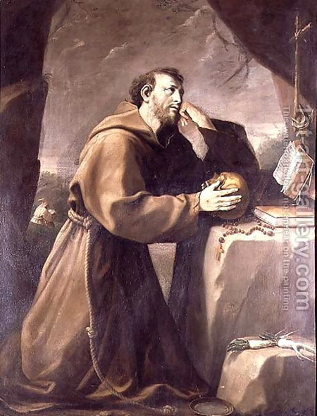 St Francis in prison